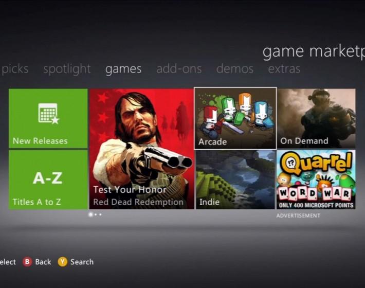 Microsoft quer rever preços de jogos na Xbox LIVE