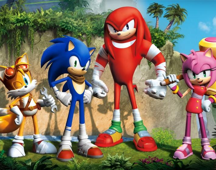 Sonic Boom é o novo título do ouriço azul para Wii U e 3DS