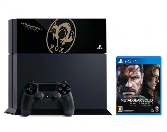 Japão terá edição especial do PS4 com Metal Gear 5