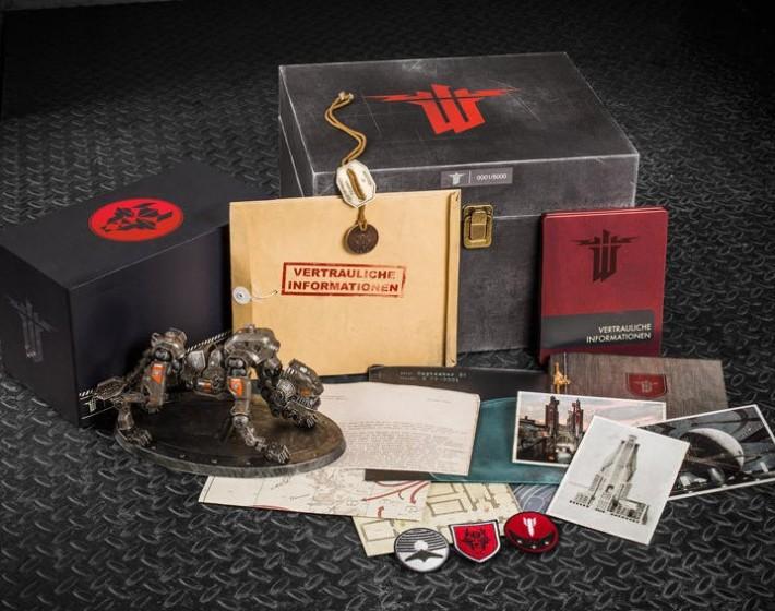 Wolfenstein: The New Order terá edição especial que não acompanha o jogo