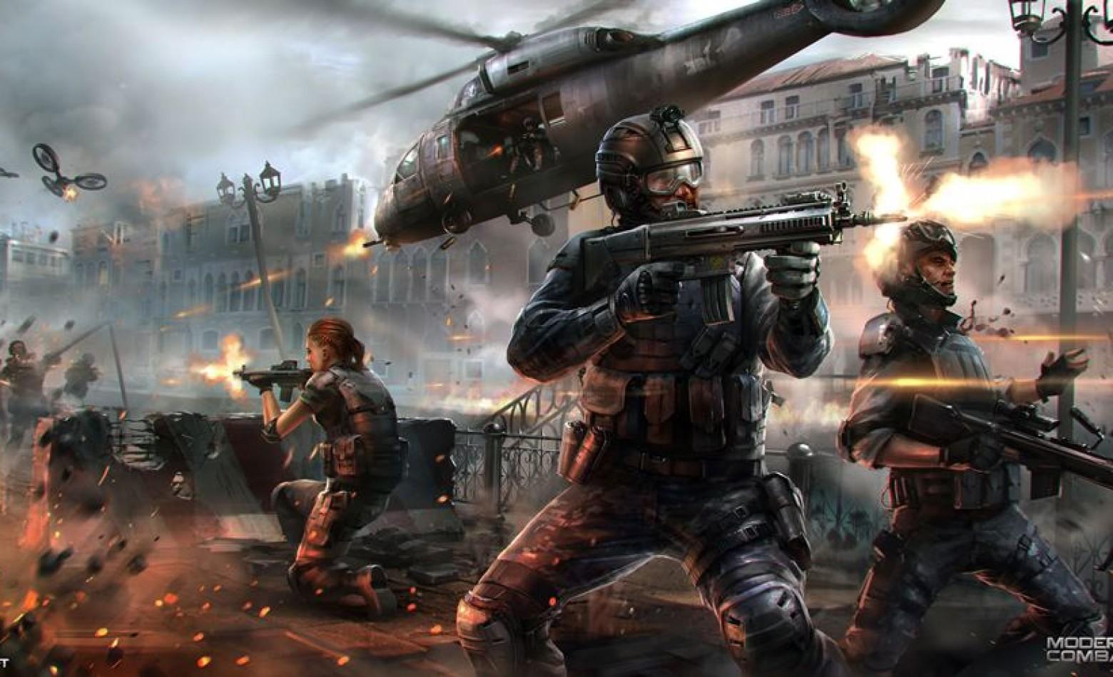 Gameloft volta a falar de Modern Combat 5