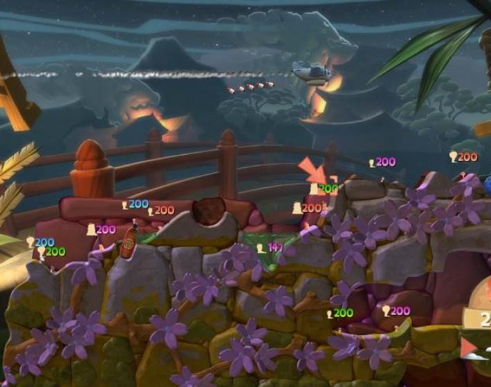 As minhocas guerreiras chegam à nova geração com Worms Battlegrounds