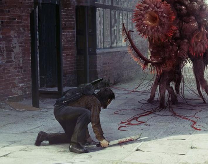 Ainda bem que esse monstro não apareceu em The Last of Us