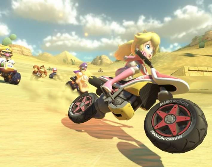 Os itens de Mario Kart 8 como se existissem no mundo real