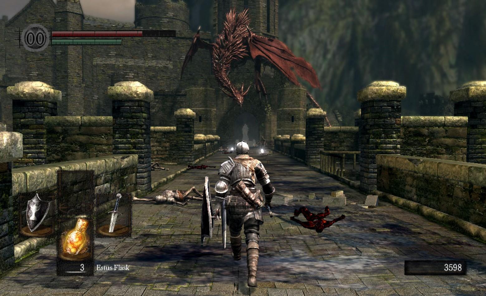 Namco quer continuar o suporte a Dark Souls no PC