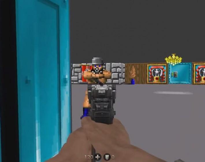Wolfenstein 3D aparece como easter egg em The New Order