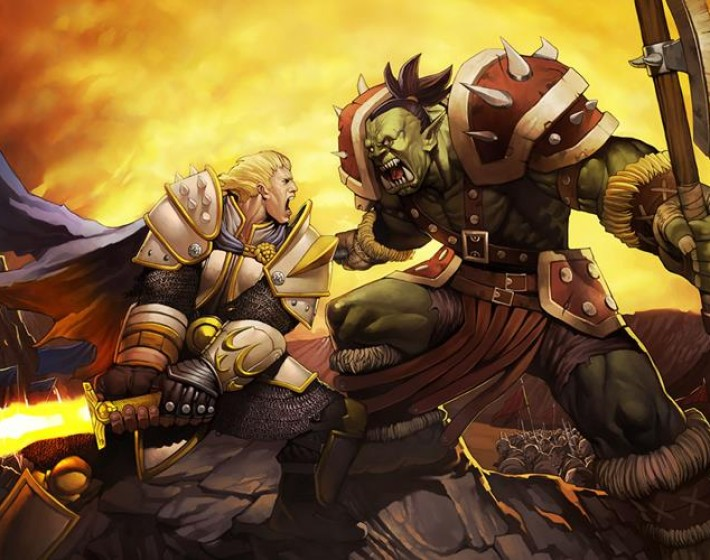Comic-Con mostra artigos e logo do filme de Warcraft