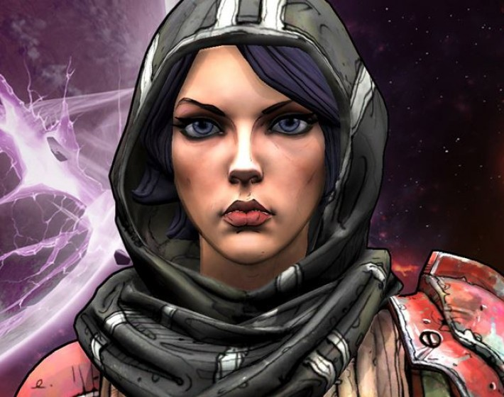 Athena representa o jogador em Borderlands: The Pre-Sequel