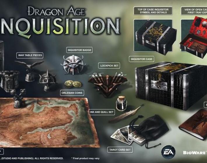 EA apresenta a edição especial de Dragon Age: Inquisition