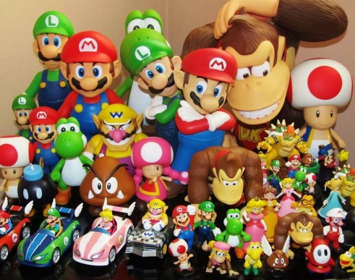 Nintendo Figure Platform vai misturar bonecos e games
