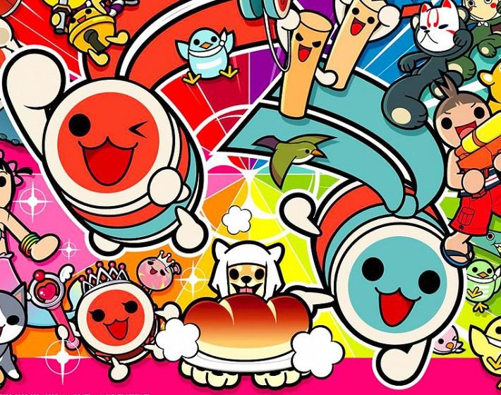 A música e as cores em Taiko no Tatsujin