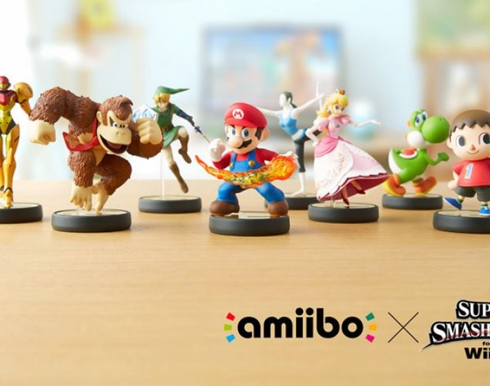 Trailer mostra os Amiibos funcionando com Super Smash Bros.