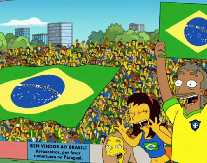 A previsão de International Superstar Soccer para Brasil X México