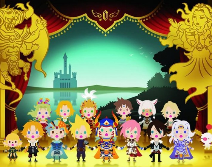 Trilha de Final Fantasy 7 é destaque do trailer de Theatrhythm Final Fantasy: Curtain Call