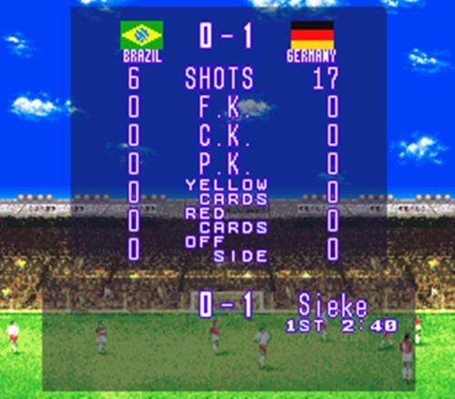 Alemanha vence o Brasil em International Superstar Soccer