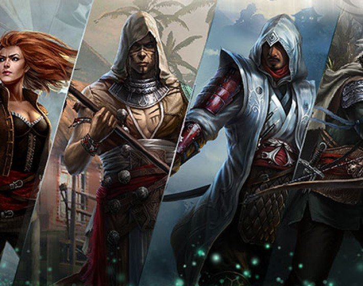 Card Game Assassin's Creed: memories chega de graça ao iOS