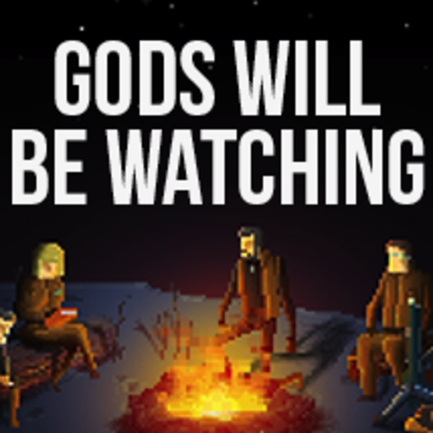 Capa de Gods Will Be Watching