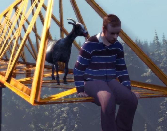 Gameplay: é a zoeira reinando em Goat Simulator