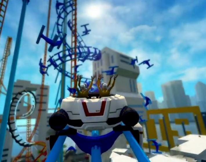 ScreamRide é o simulador de montanha russa da Microsoft