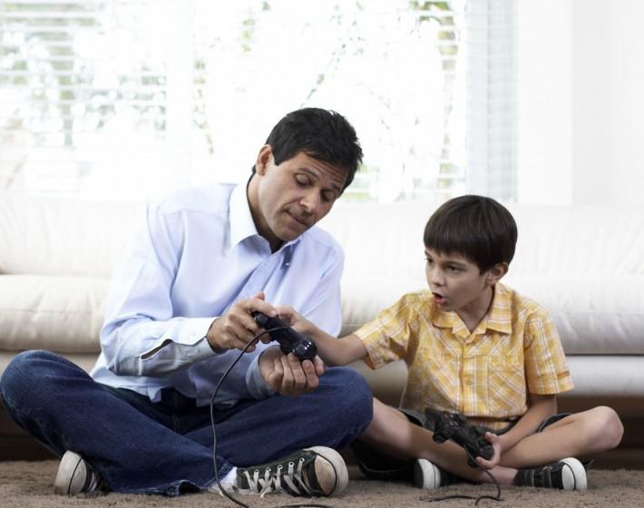 Filhos gamers, pais gamers