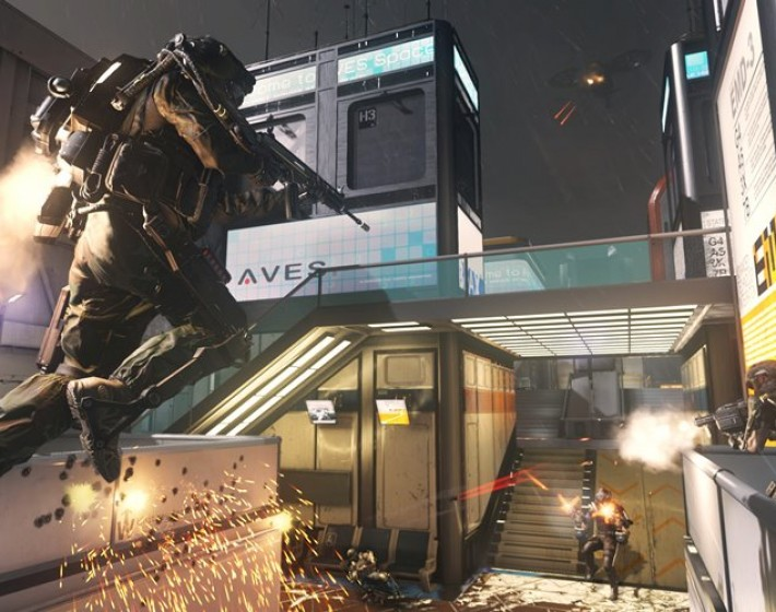 De repente gameplay de Call of Duty: Advanced Warfare
