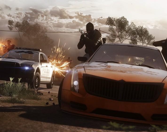 Battlefield Hardline traz a guerra em alta velocidade