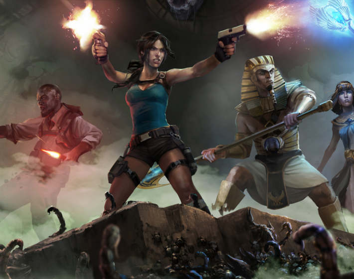 Modo coop é o grande e único atrativo em Lara Croft and the Temple of Osiris