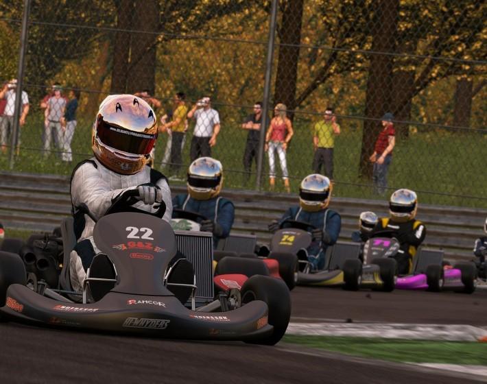 Project Cars terá modo de corrida com karts
