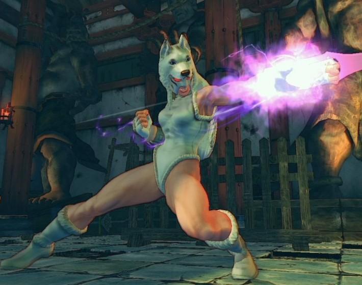 Ultra Street Fighter IV e seus bizarros animais lutadores