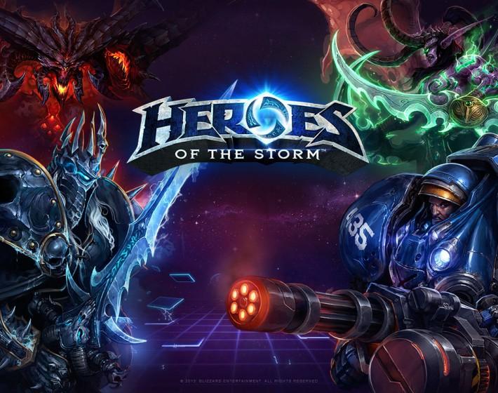 Heroes of the Storm terá Beta fechado em Janeiro