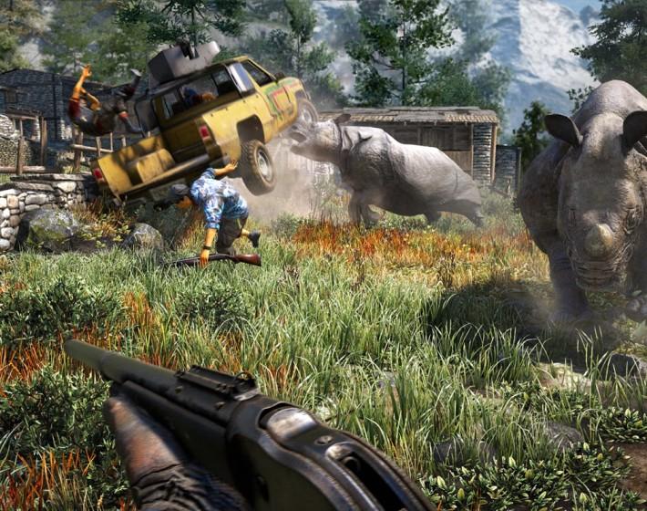 O gameplay do dia é de Far Cry 4