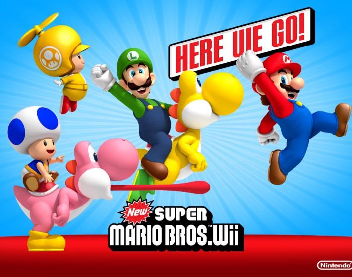 New Super Mario Bros do Wii vendeu 10 milhões de cópias