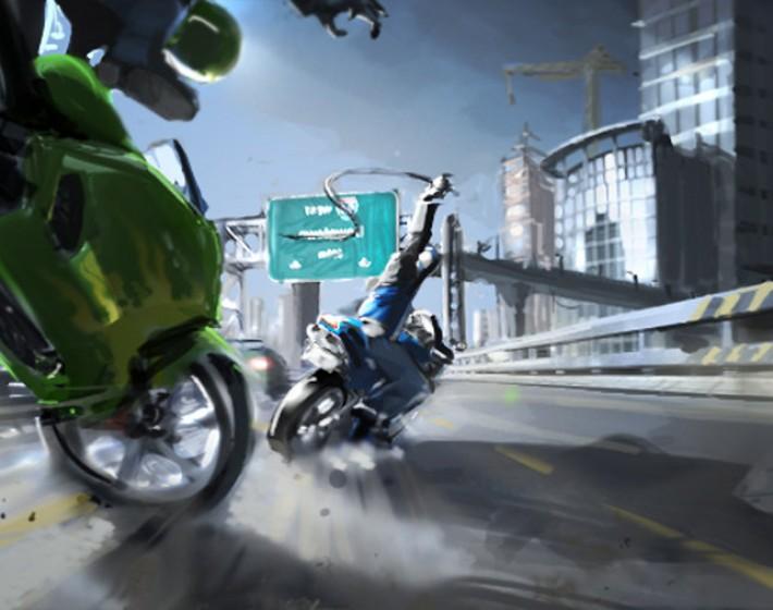 Jogo de ideias: Road Rash