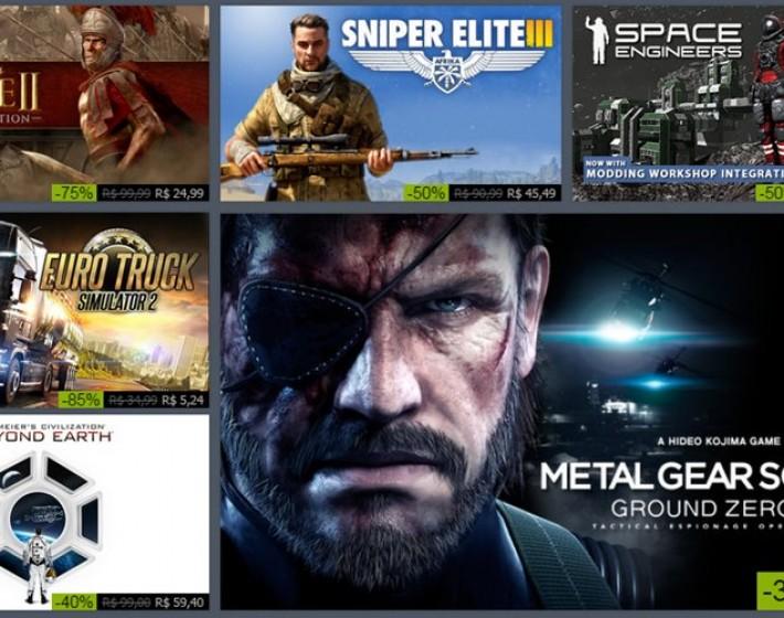 Steam inicia promoção de final de ano