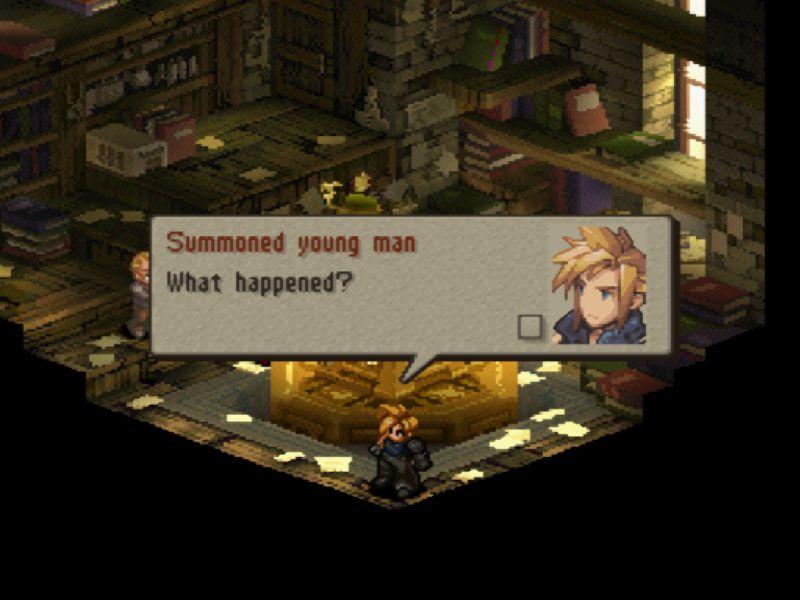 Você se lembra, ou conhece, Final Fantasy Tactics?