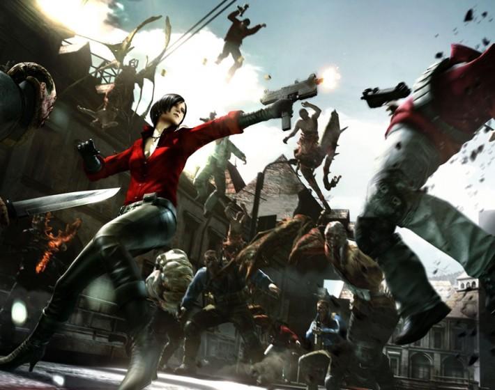 Ada Wong fecha a maratona Resident Evil 6