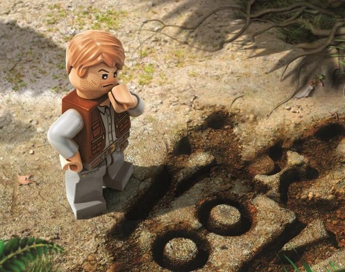 Gameplay: passado e presente se encontram em LEGO Jurassic World