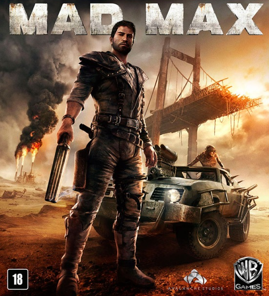 Capa de Mad Max