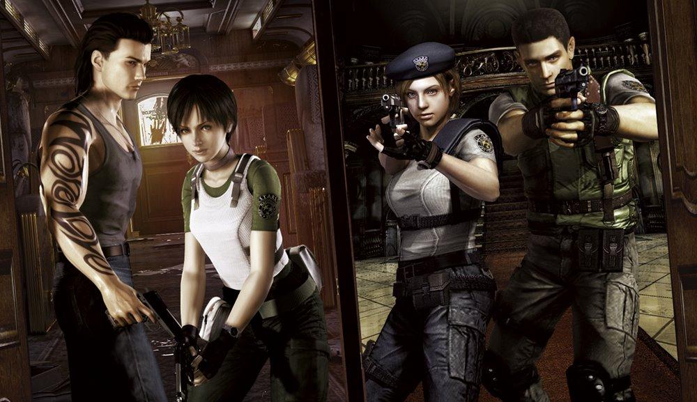 Resident Evil Zero e Remake chegarão em disco ao Brasil