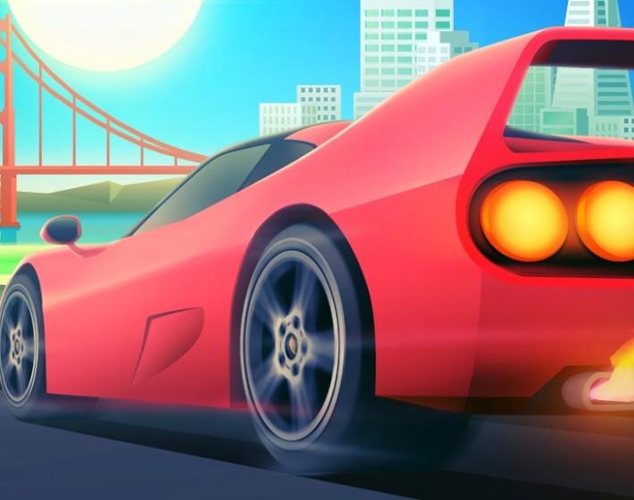 Nas estradas da nostalgia com Horizon Chase Turbo [Gameplay]