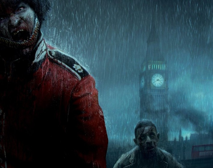 Gameplay: Zombi e uma Londres completamente devastada
