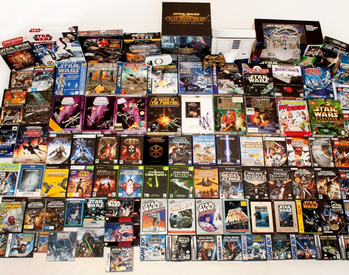 A Força sempre esteve conosco: dez games clássicos de Star Wars