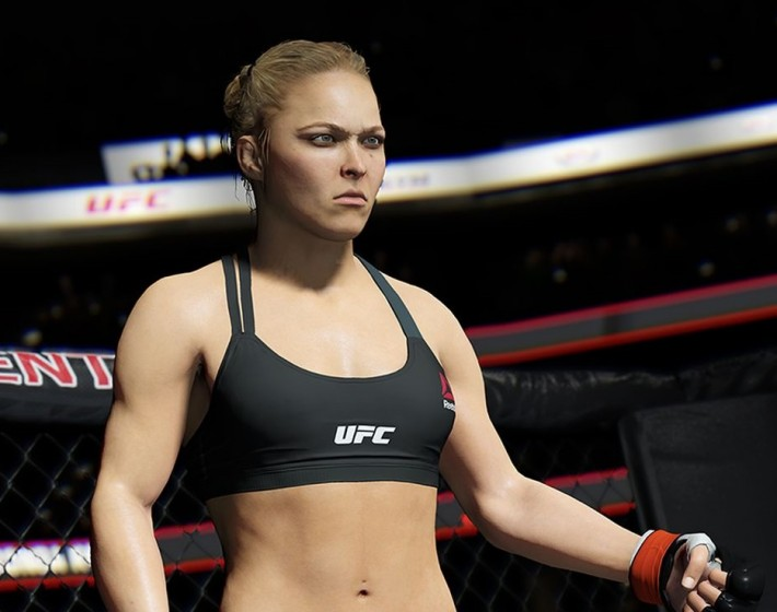 Gameplay: suor e sangue em EA Sports UFC 2