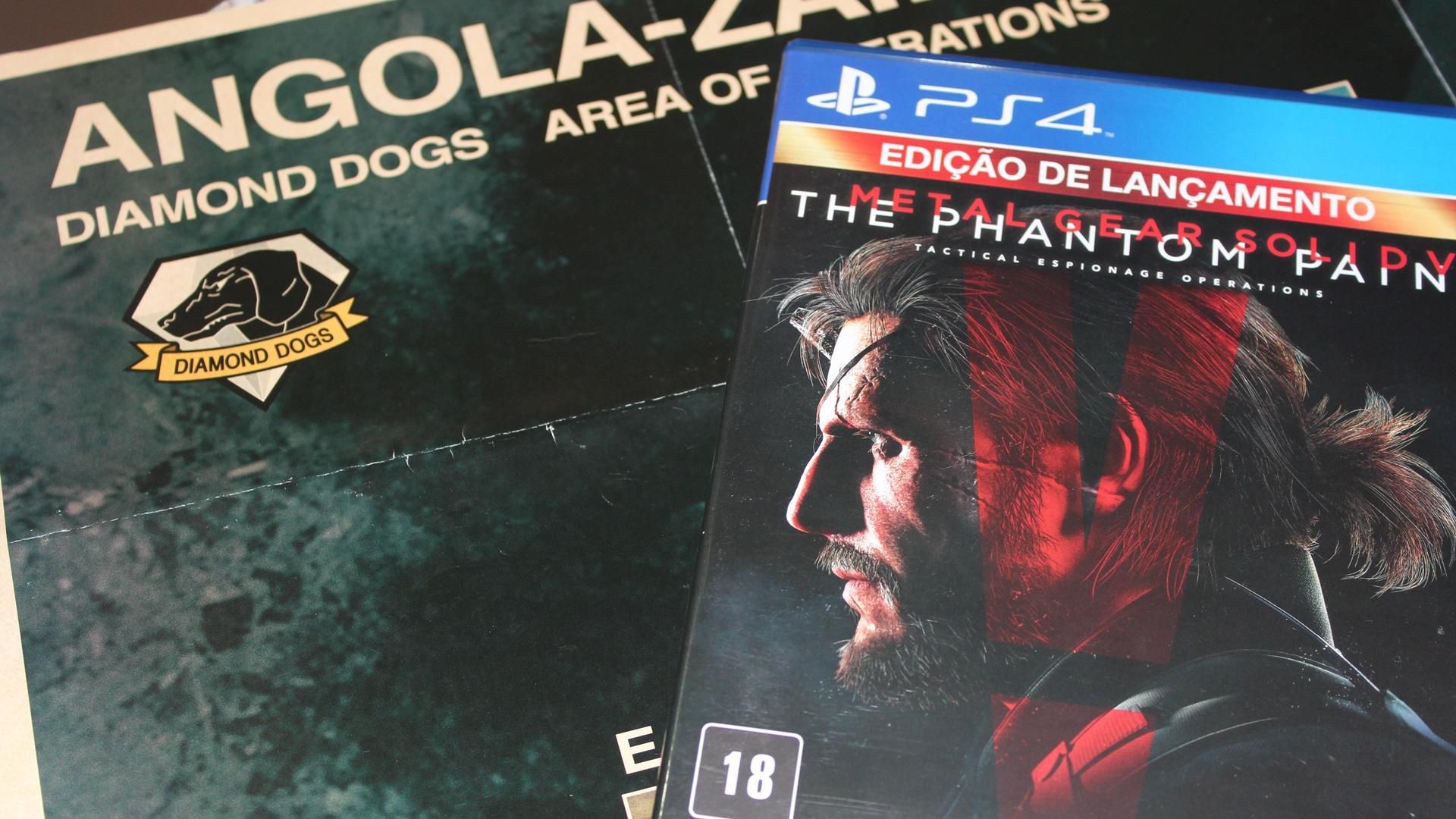 Como conseguir o mapa que deveria acompanhar Metal Gear Solid 5 no Brasil