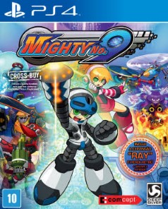 Capa de Mighty No. 9
