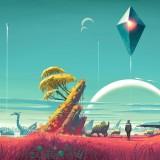 Gameplay: pegando carona em cauda de cometa em No Man's Sky