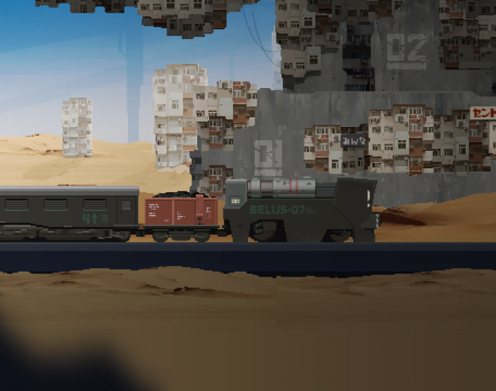 Trem, tiros e sobrevivência