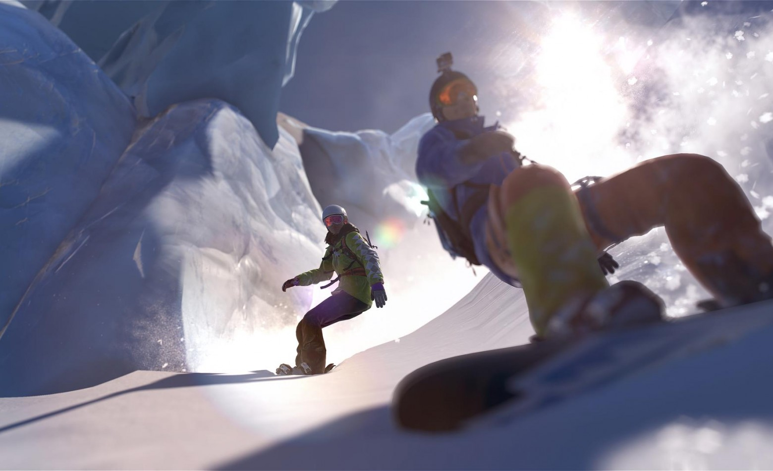 Gameplay: uma visita aos alpes na Beta de Steep