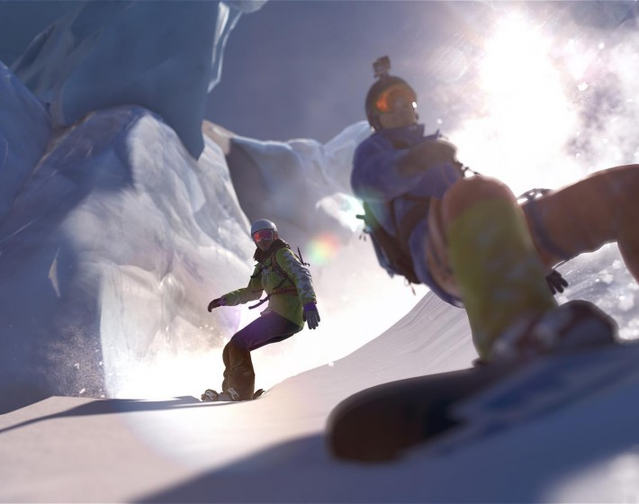 Gameplay: uma visita aos alpes na Beta de Steep