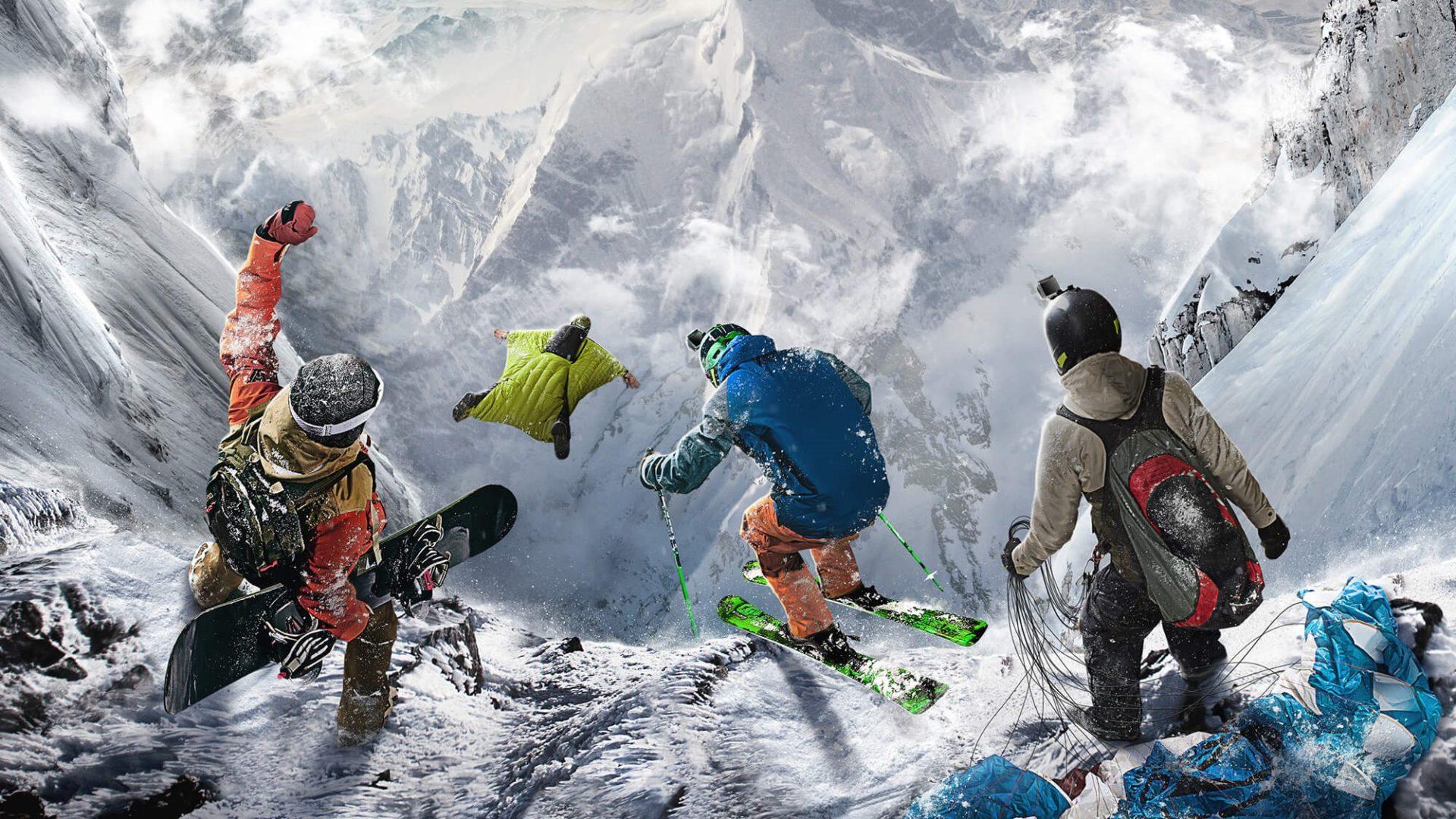 Steep: desbravando a vastidão da neve em meio a desafios radicais